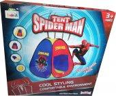 SAAT+Örümcek Adam(Spiderman) İç&Dış Mekana Uygun Oyun Çadırı-2
