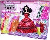 Barbie Melissa Bebek Defilede Giydirme Seti,13...