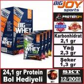 Bigjoy Bigwhey Whey Protein Tozu 32 Tekli Paket Mix Aromalı 2 Hediyeli