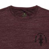 Erkek Moto Baskılı Bordo Tişört-3