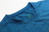Erkek Yılan Baskılı Mavi Tişört-3