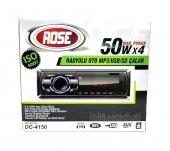 ROSE DC-4150 Radyolu Kumandalı MP3-USB-SD Oto Teyp-3
