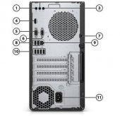 Hp 285 G3 Amd Ryzen 3 2200G 3.5GHz 4GB 1TB FreeDOS Masaüstü Bilgisayar 4CZ68EA-2