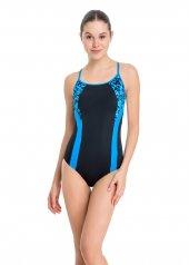 Dagi Kadın İnce Askılı Yüzücü Mayo Mavi B0118y0034...