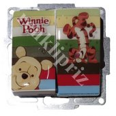 Winnie The Pooh Komütatör Çerçevesiz