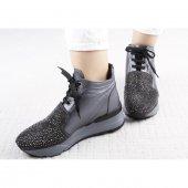 önü Taş Baskılı Spor Ayakkabı