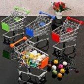 Minyatür Market Arabası Kalemlik