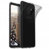 Samsung Galaxy S9 (G960) Soft Silikon 0.3mm Şeffaf Siyah
