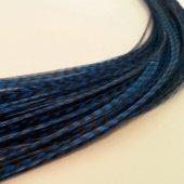 Saç Tüyü Mavi Hareli