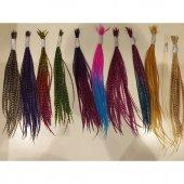 Saç Tüyü Mavi Pembe-2