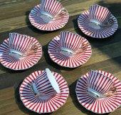 Kokosh Home Zebra Kırmızı 6lı Fincan Takımı...