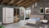 Felora Bazalı Yatak Odası