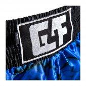 G4F KICK BOXING SHORT G4F MODEL TOTALLY SUBLİMATED BLACK/BLUE  (G