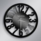 Kişiye Özel İsimli Farklı Tasarım Ahşap Duvar Saati - 36A
