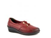 Forelli 26201 Kadın Deri Hallux Comfort Ayakkabı 3 Renk