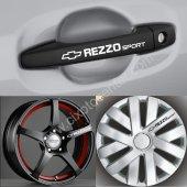 Chevrolet Rezzo Kapı Kolu Jant Sticker
