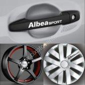 Fiat Albea Kapı Kolu Jant Sticker