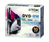 Tdk Dvd Rw 4.7gb 120mın 1 4x 10lu Kutulu...
