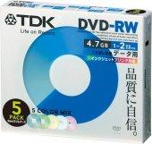 Tdk Dvd Rw 4.7gb 120mın 1 4x 5li Kutulu...