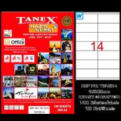 Tanex Tw 2514 105 Mm X 38 Mm 100 Sayfa Lazer