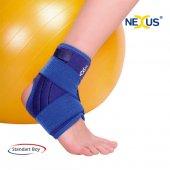 Fleksible Balenli Ayak Bilekliği Silikonlu Cırtlı Variteks 897