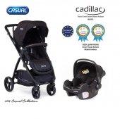 Casual Cadillac Trona Travel Sistem Bebek Arabası-4