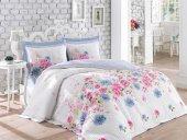 Cotton Box Ranforce Çift Kişilik Complete Set - Sandrea Mavi
