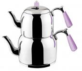 özkent K 376 Armine Sade Mini Boy Çaydanlık...