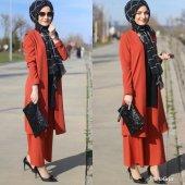 Ceket pantolon bayan takım elbise-4