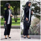 Ceket pantolon bayan takım elbise-5