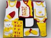 10 Parça Galatasaray Bebek Hastane Çıkışı Yeni Doğan Seti