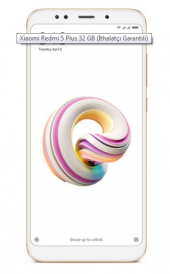 Xiaomi Redmi 5 Plus 32 Çift Hatlı Cep Telefonu