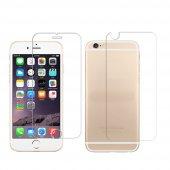 iPhone 5-5s-Se-6-6S-7-8 Plus Ön Arka Kırılmaz Ekran Koruyucu Cam-12