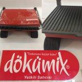 Dökümix Kırmızı Döküm Organik Tost Makinesi...
