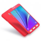 Samsung Galaxy Note 5 Kılıf 360 Derece Tam Koruma-5