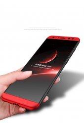 Huawei Mate 10 Lite Kılıf 360 Derece Kırılmaz Cam Hediye-12