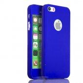 iPhone 5 5S Se Kılıf 360 Derece Tam Koruma Full Body-4