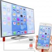 Iphone 5 5s 5c 6 6 Plus Hdmi Kablo Tv Bağlantı...