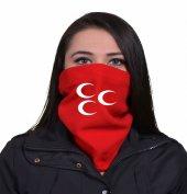 Kırmızı Ülkücü CCC  Bayan Boyunluk