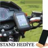 Motosiklet Bisiklet Atv Telefon Tutucu Tutacağı...