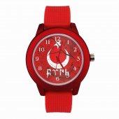Ülkücü Kırmızı Renkli Saat
