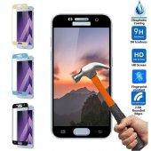 Samsung Galaxy C8 3d Kırılmaz Cam Tam Kaplama...