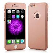 iPhone 6 Plus Kılıf 6S Plus Kılıf 360 Derece Koruma Ful Body-4