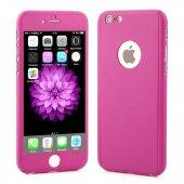 iPhone 6 Plus Kılıf 6S Plus Kılıf 360 Derece Koruma Ful Body-9