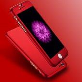 iPhone 6 Plus Kılıf 6S Plus Kılıf 360 Derece Koruma Ful Body-10