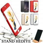 iPhone 6 Plus Kılıf 6S Plus Kılıf 360 Derece Koruma Ful Body