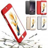 iPhone 6 Plus Kılıf 6S Plus Kılıf 360 Derece Koruma Ful Body-11