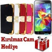 Samsung Galaxy Grand Prime Kılıf Rugan Cam Hdye