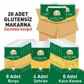 Beşler Glutensiz Lezzetli Makarna Paketi 20li Koli