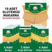 Beşler Glutensiz Makarna Paketi 10lu Koli